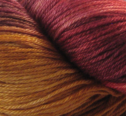 Ridge Top Fibre Studio - 50/50 Merino Silk - Inferno