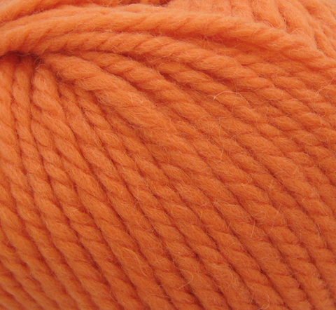BURNT ORANGE  ROWAN BIG WOOL PURE WOOL