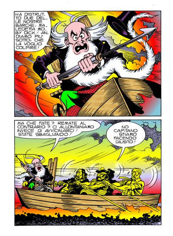 Alan Ford Original n. 563 - Moby Dick in color