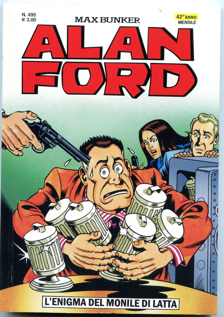 Alan Ford Original n. 495 - L'enigma Monile di latta