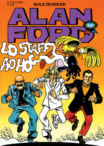 Alan Ford Original n. 413 - Lo Staff ad hoc