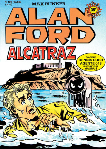 Alan Ford Original n. 421 - Alcatraz