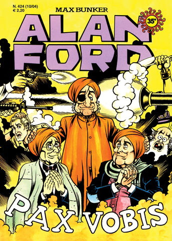 Alan Ford Original n. 424 - PaxVobis
