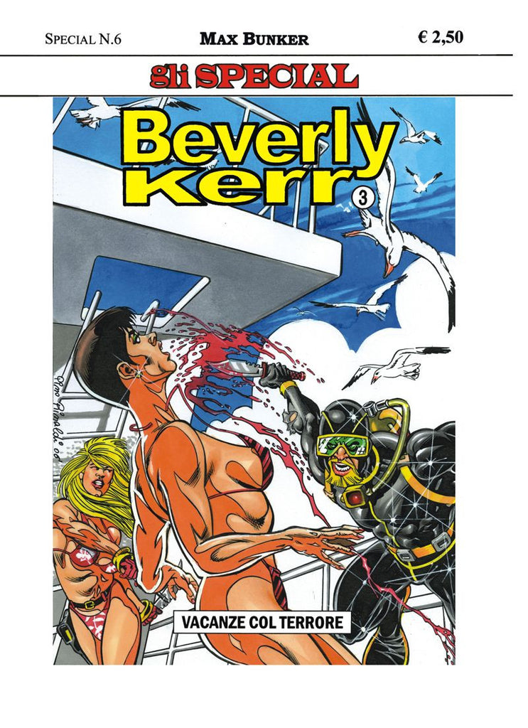 Gli Special n. 6 - Beverly Kerr n. 3 - Vacanze col terrore