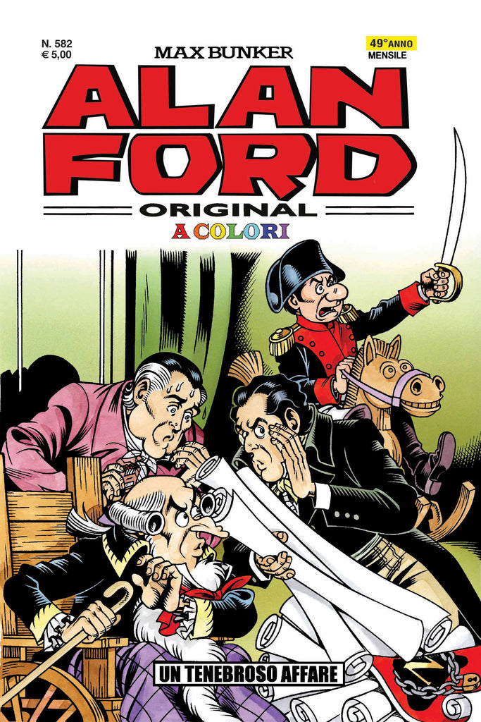 Alan Ford Original n. 582 - Un tenebroso affare