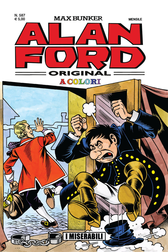Alan Ford Original n. 587 - I Miserabili in color
