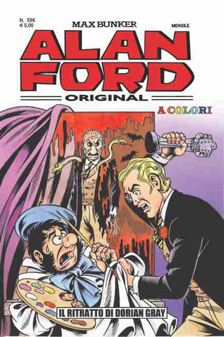 Alan Ford Original n. 596 - Il Ritratto di Dorian Gray in color