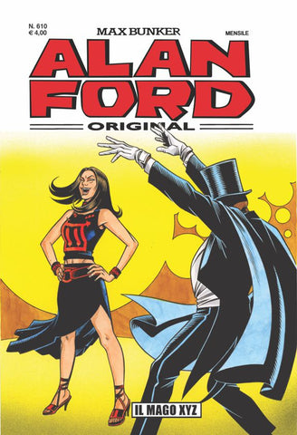 Alan Ford Original n. 610 - Il Mago XYZ