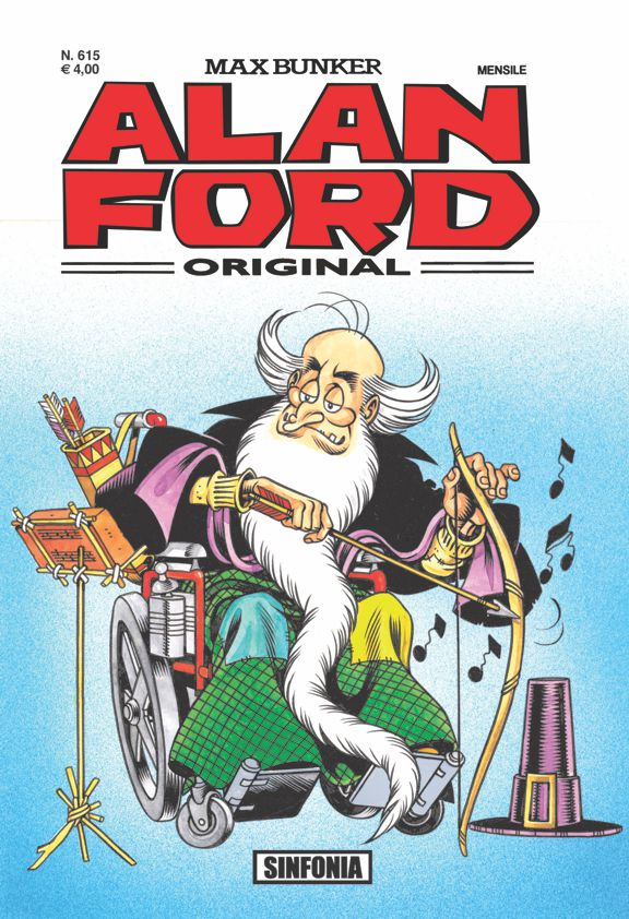 Alan Ford Original n. 615 - Sinfonia