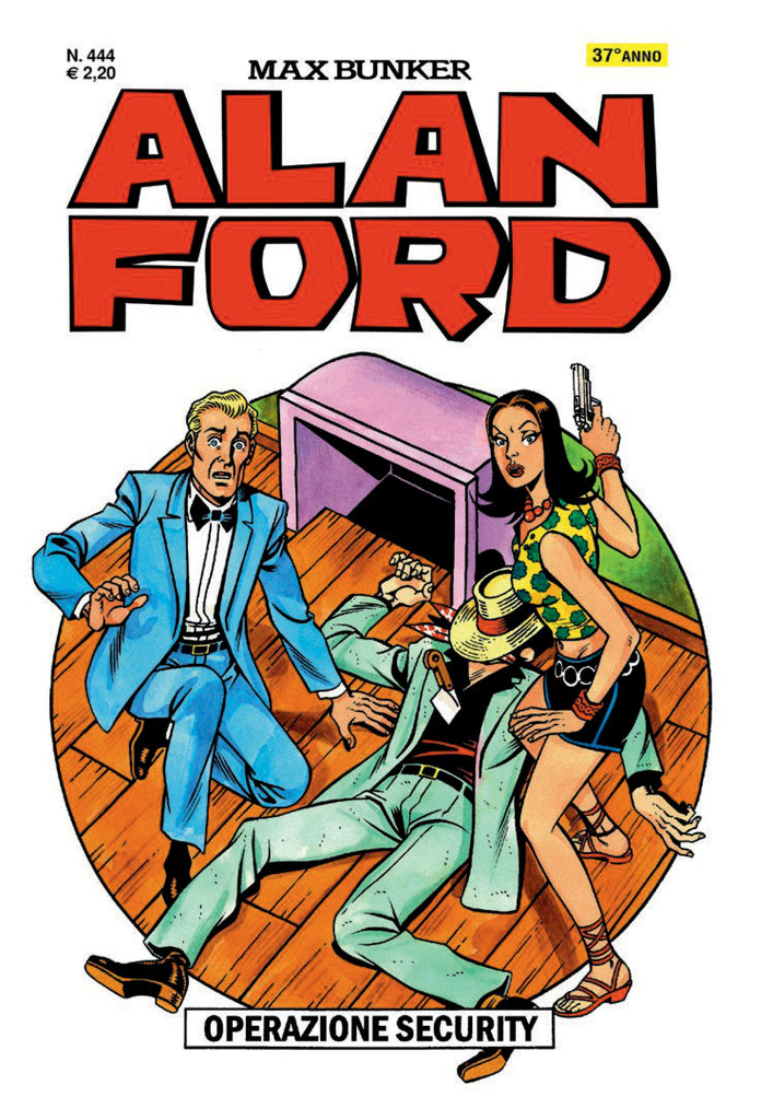 Alan Ford Original n. 444 - Operazione Security
