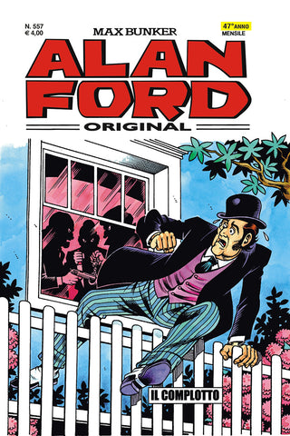 Alan Ford Original n. 557 - Il complotto