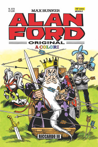 Alan Ford Original n. 572 - Riccardo III