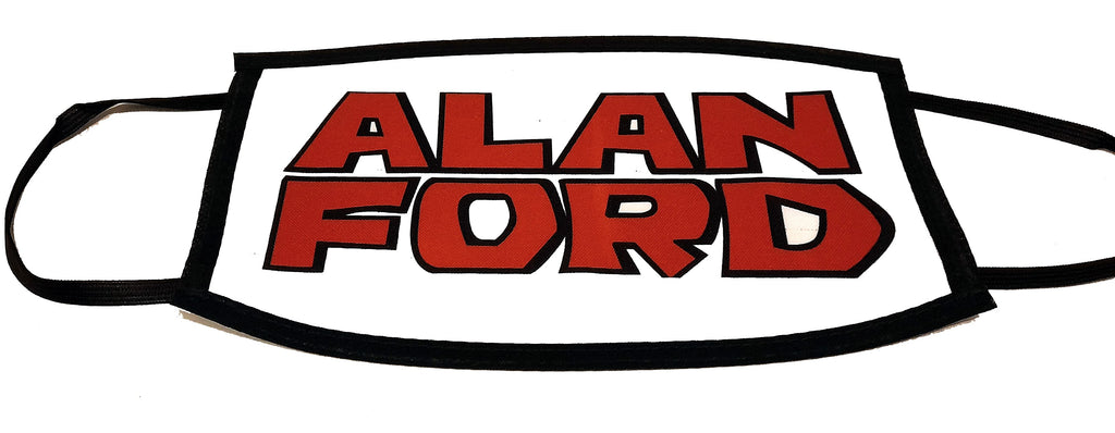 Mascherina Logo Alan Ford
