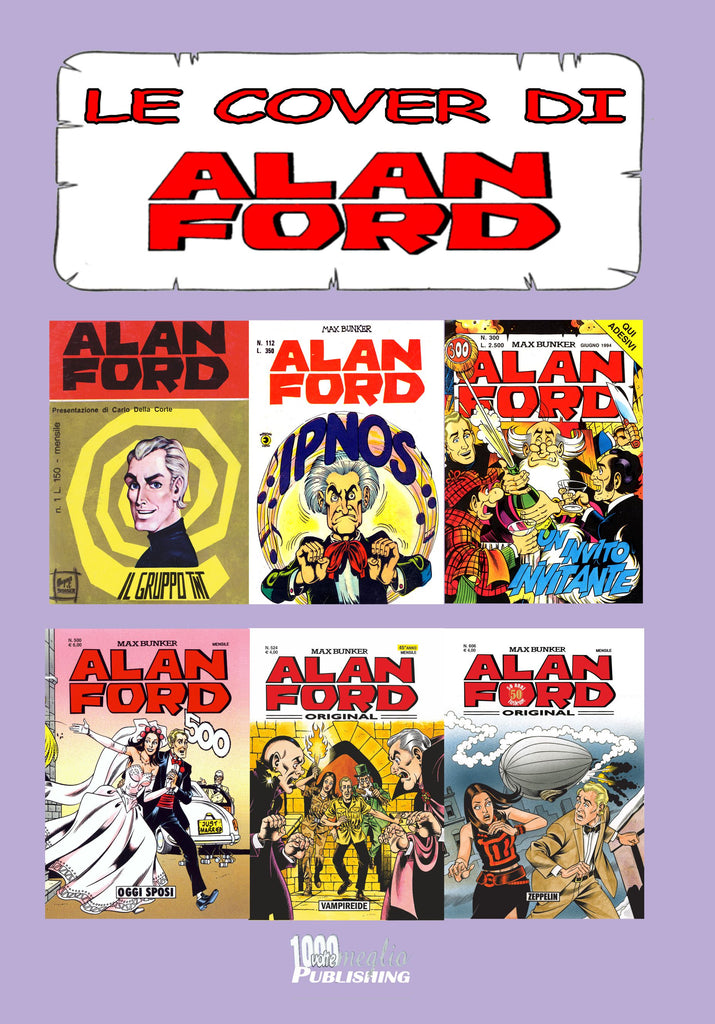 Le Cover Alan Ford volume 2