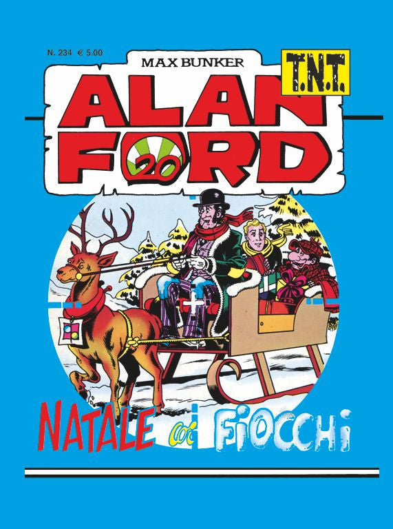 Alan Ford TNT n. 234 - Natale coi fiocchi