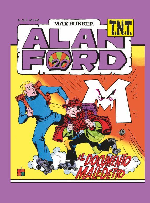 Alan Ford TNT n. 238 - Il documento maledetto