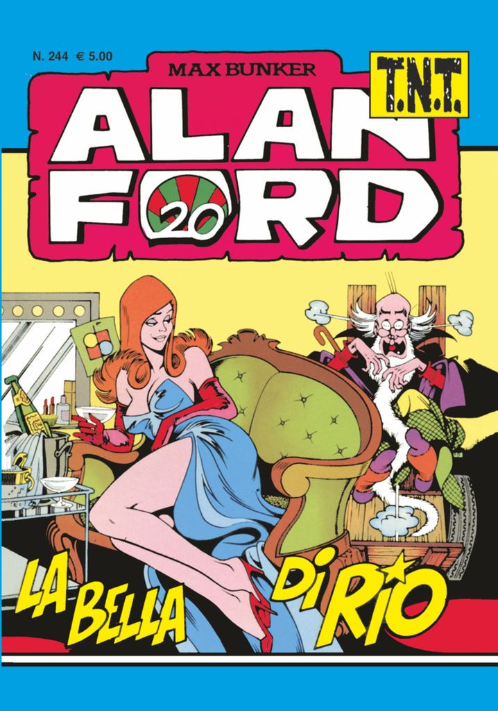 Alan Ford TNT n. 244 - La Bella di Rio