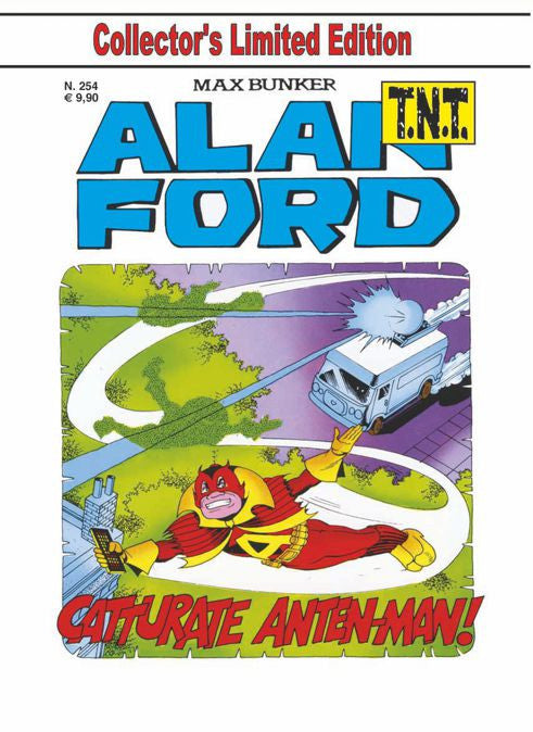 Alan Ford TNT n. 254 - Catturate Anten-man