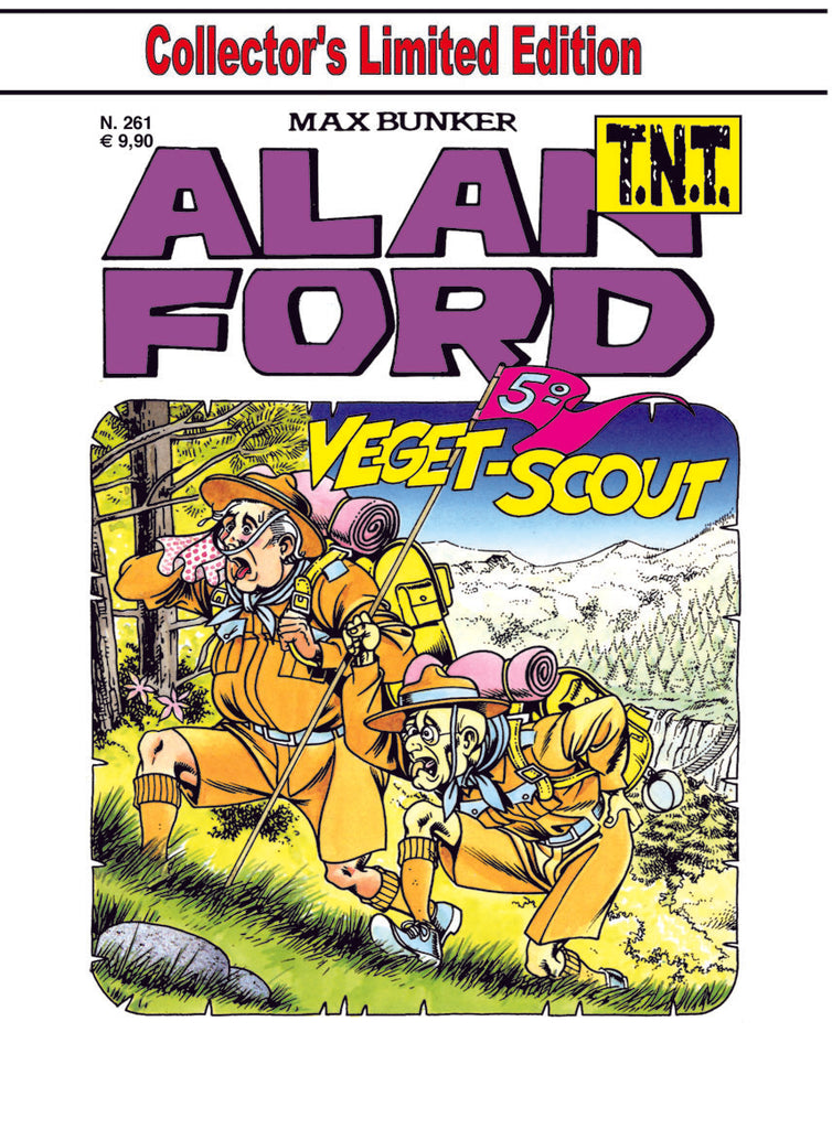 Alan Ford TNT n. 261 - Veget-Scout