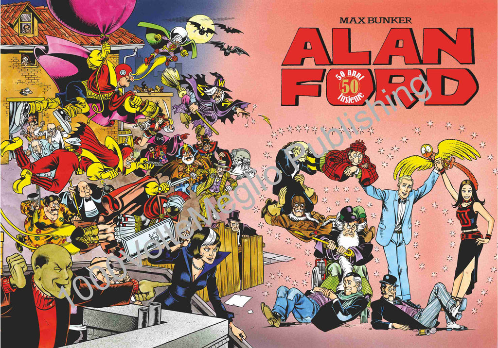 Poster Alan Ford 50°