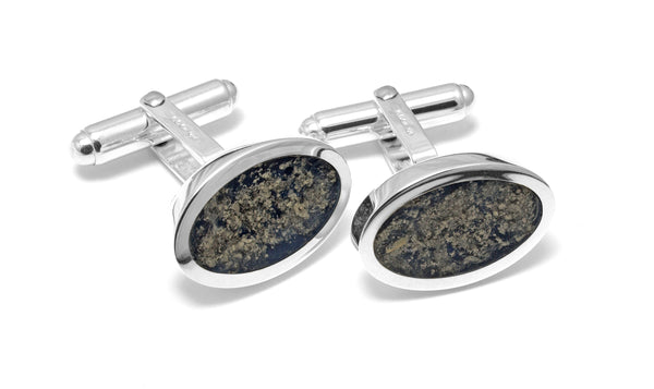 Oval Resin Cufflinks