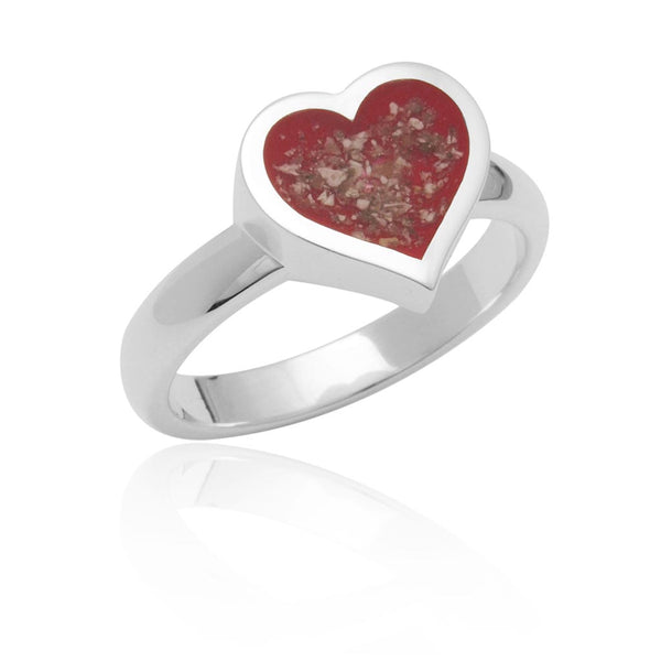A82 Stylised Heart Shape Ring