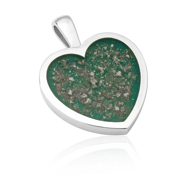 Heart Shape Resin Pendant