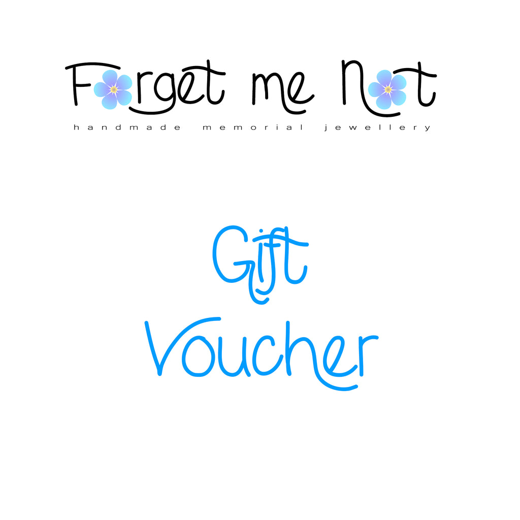 Forget Me Not Jewellery Gift Card