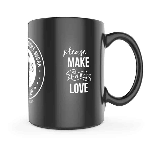 Shhhh love Mug - Personalised Extras