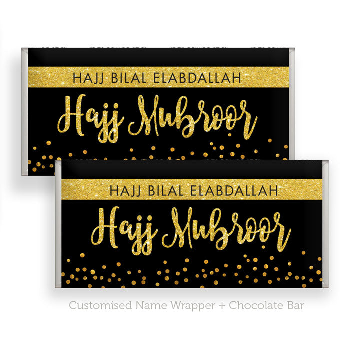 x48 Chocolate Bars + Hajj Wrapper (Standard or customised)