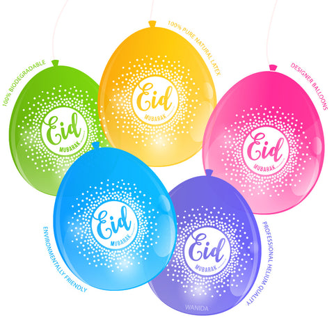 EPIC EID Confetti Balloons -Air