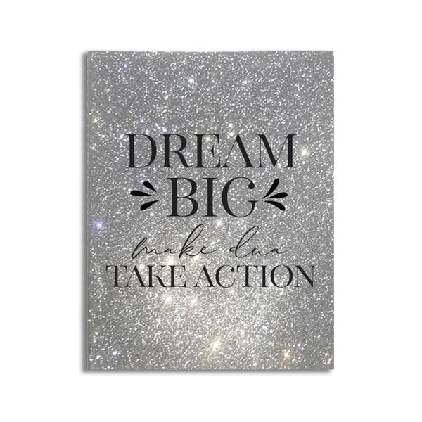 Dream Big - Glam Notebook