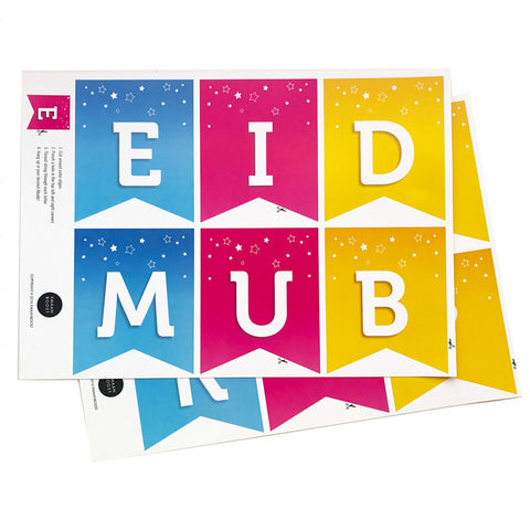EPIC Colour Eid Bunting