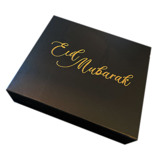 Eid Party Box - Gold foiled + Magnet close gift box