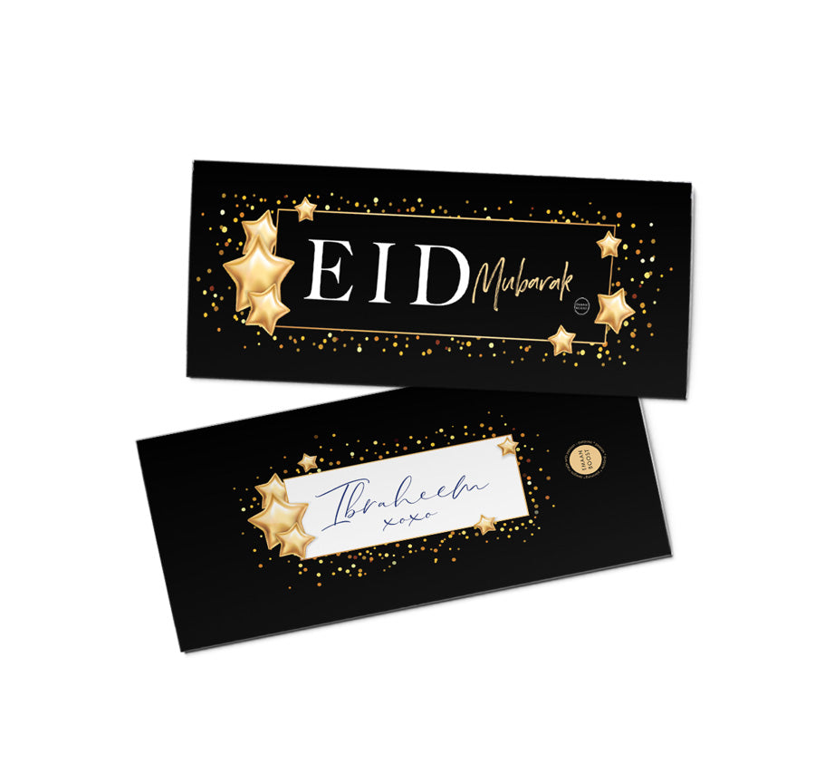 3pk Eid Money Pouches/Envelopes - Gold Glam Collection