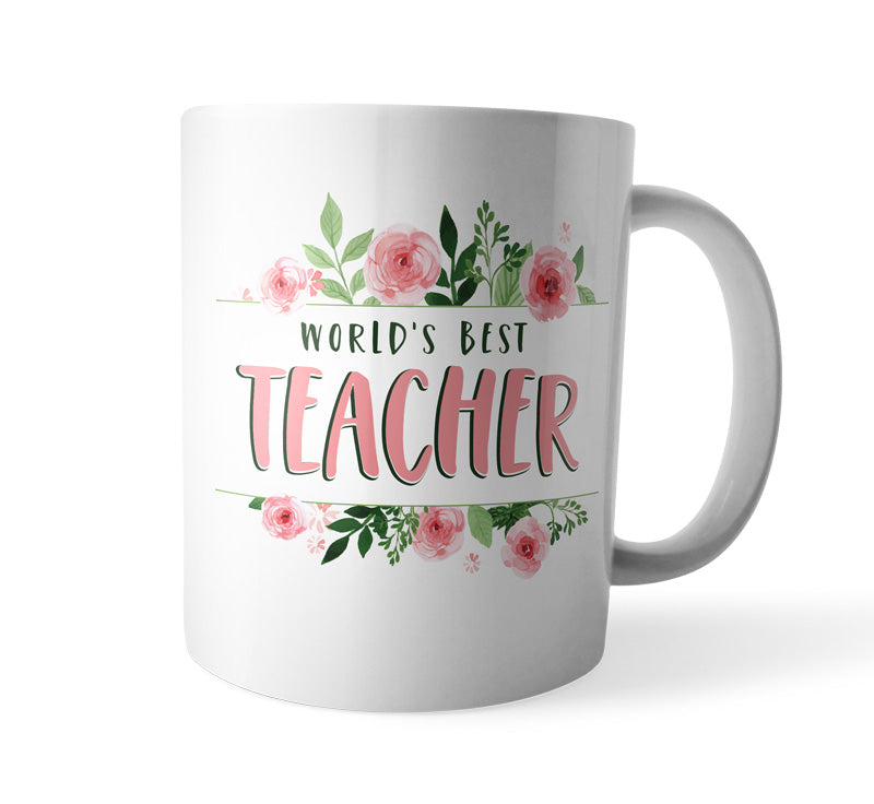 World's Best Teacher - Coffee Mug