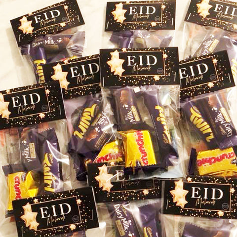 Gold Glam - Eid lolly bags (12pkt)