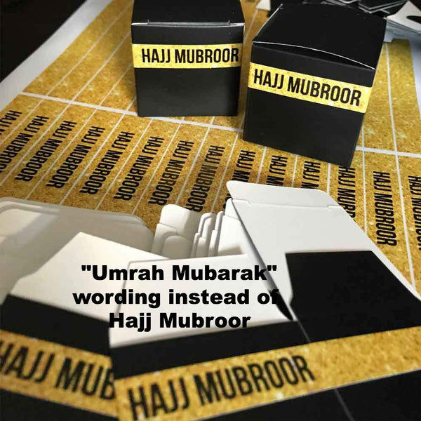 Umrah Mubarak Party Favour boxes