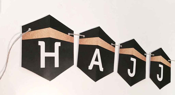 HAJJ Mubroor (double sided) Bunting
