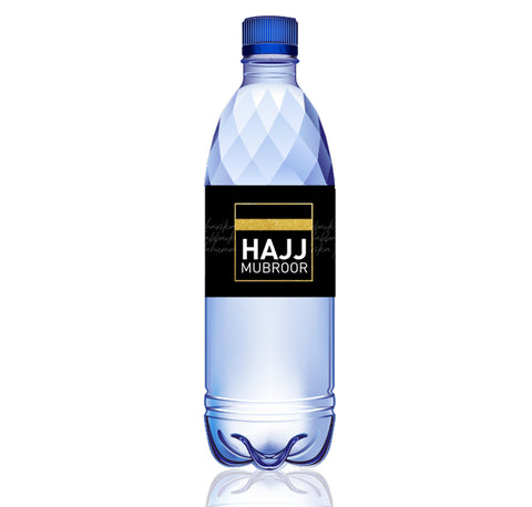 Hajj Water bottle wraps - Pack of x22