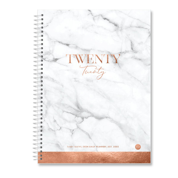 Marble Copper - 2020 Deen Daily Planner ( 2 sizes)