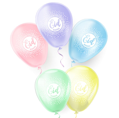 EID Pastel Collection  - Helium & Stick use