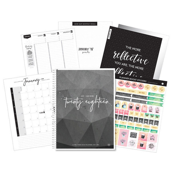 Deen Daily Planner - Geometric Stone