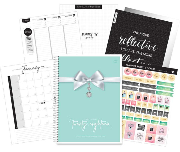Deen Daily Planner - Tiffany Treasures