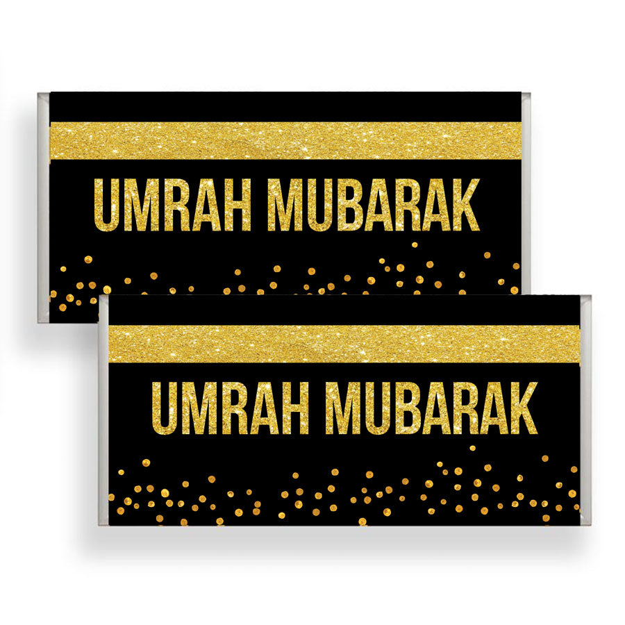 X25 Umrah Chocolate Wrapper Wrapper Only