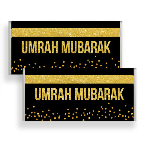 x25 Umrah Chocolate Wrapper (Wrapper only)