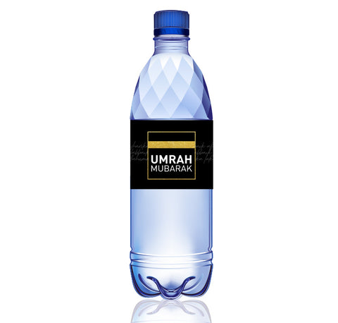 Umrah Water bottle wraps