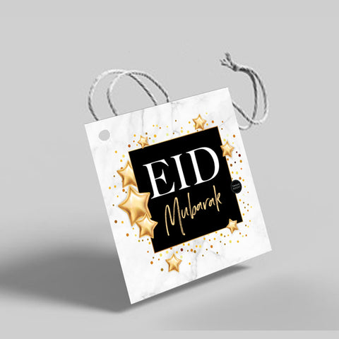 Gold Glam - Eid gift tags