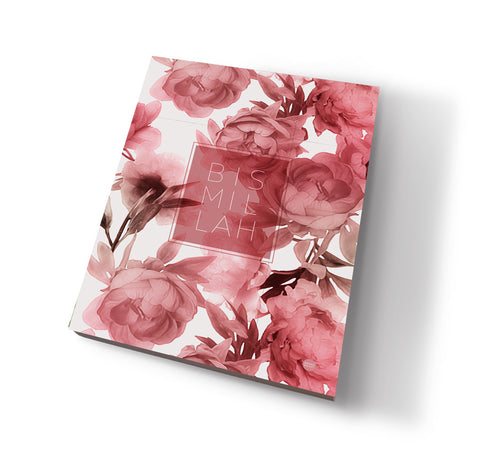 Bismillah flower - Lined Notepad