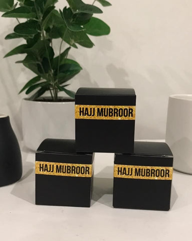 Hajj Mubroor Party Favour boxes